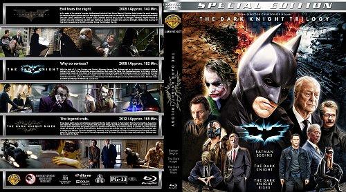 Темный рыцарь 3в1 / The dark knight trilogy collection (2005-2012)