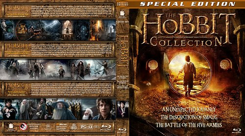 Хоббит 3в1 / The Hobbit trilogy collection (2012-2014)