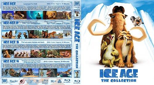 Ледниковый период 4в1 / Ice Age Quadrilogy collection (2002-2012)