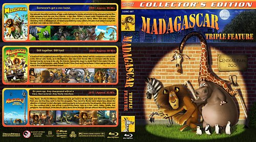 Мадагаскар 3в1 / Madagascar trilogy collection (2005-2012)