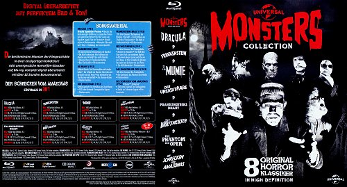 Монстры 8в1 / Monsters 8-pack collection (1931-1954)