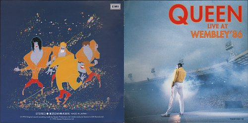 Queen - Live At Wembley '86 (1992)