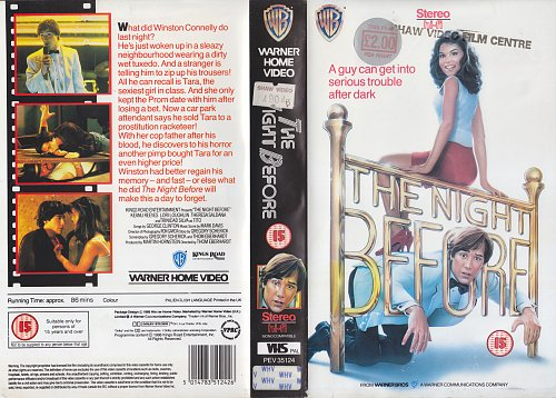 Прошлой ночью / The Night Before (1988)