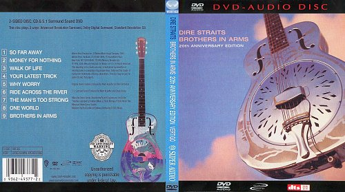 Dire Straits - Brothers In Arms - 2005 Dvd-Audio