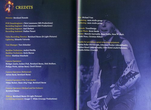 Michael Schenker's Temple Of Rock - On A Mission - Live In Madrid (Limited Edition)
