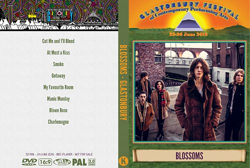 Blossoms - Glastonbury Festival (2016)