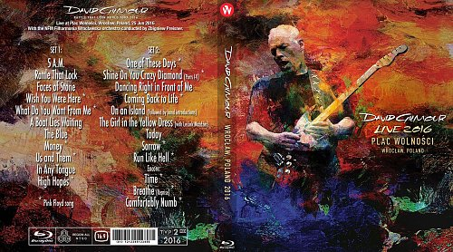 David Gilmour - Wroclaw, Poland (2016)