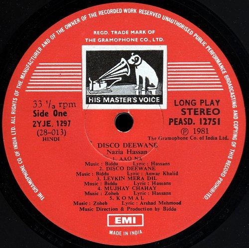 Nazia Hassan - Disco Deewane (1981)