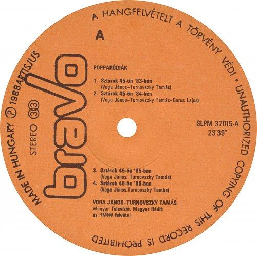 Voga-Turnovszky - Popparodiak 1983-1987 (1988)