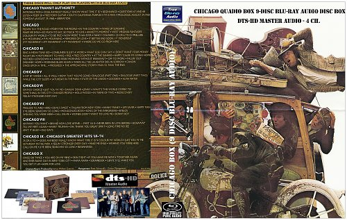 Chicago Quadio Box  Blu-Ray Audio