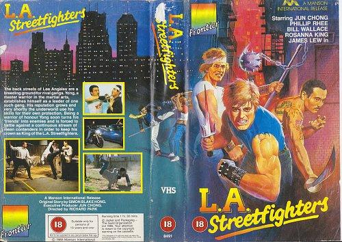 Los Angeles Streetfighter / Территория ниндзя (1985)