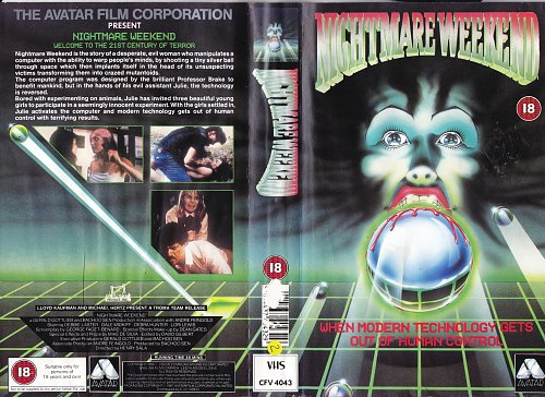 Nightmare Weekend / Кошмарные выходные (1986)
