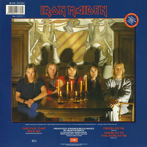 Iron Maiden - The Evil That Men Do (1988) EP