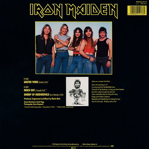 Iron Maiden - Wasted Years (1986) EP