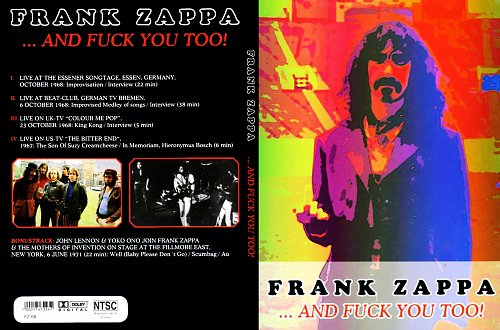 Frank Zappa ''...And Fuck You Too'' (2006)