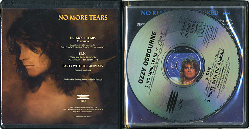 Ozzy Osbourne - No More Tears (Single) (1991)