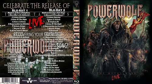 Powerwolf - The Metal Mass - Blu-Ray 2016