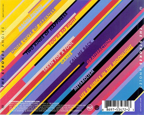 Strokes - Angles (2011 RCA, Rough Trade Records Ltd., Sterling Sound, USA)