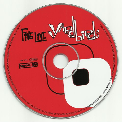 Yardbirds - Five Live Yardbirds (1964/2007)