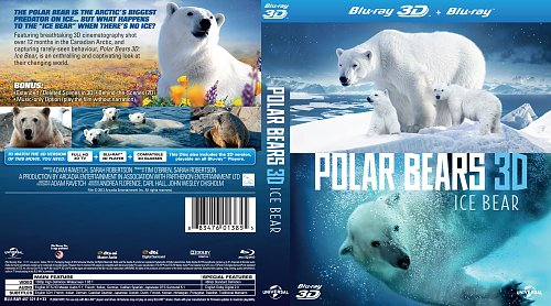 Polar Bears - Summer Odissey 3D (2012) Blu-ray