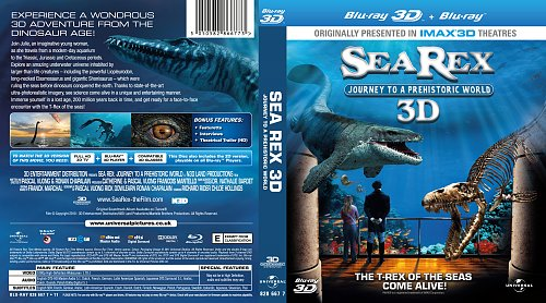 Sea Rex 3D Journey to a Prehistoric World Blu-ray 2010