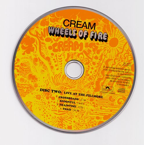 Cream - Wheels Of Fire (1968)