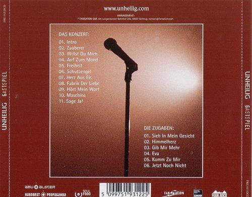 Unheilig - Gastspiel (2005)