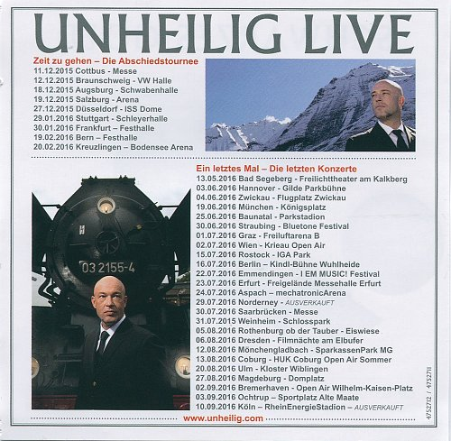 Unheilig - Unter Dampf. Ohne Strom (2015)