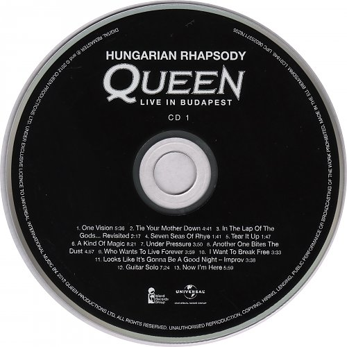 Queen - Hungarian Rhapsody. Live In Budapest (1986)