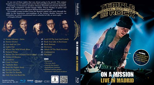 Temple Of Rock - On A Mission: Live In Madrid (2016)
