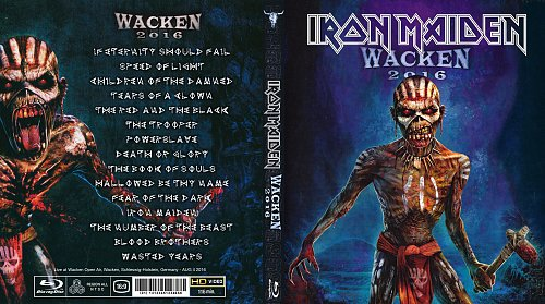 Iron Maiden - Wacken (2016)