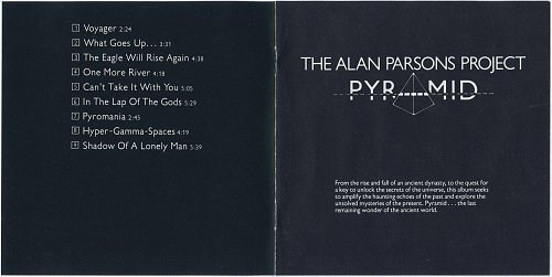 Alan Parsons Project - Pyramid (1978)