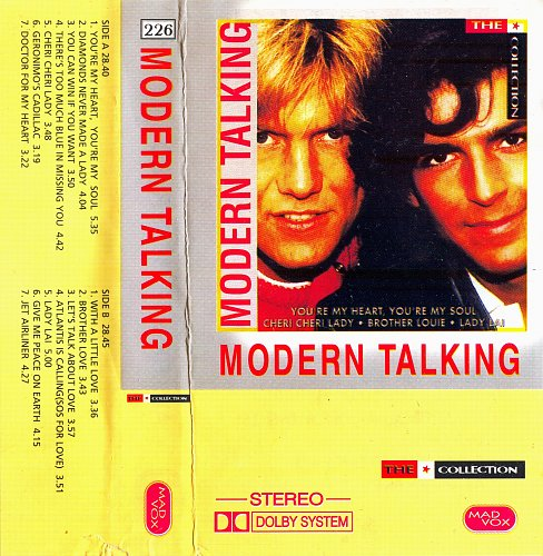 Modern Talking ‎– The Collection (1993)