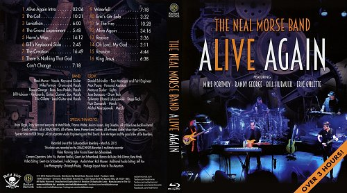 Neal Morse Band, The - Alive Again (2016)