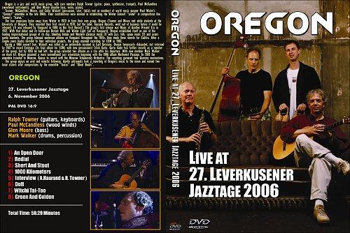 Oregon - Live At Leverkusener Jazztage (2006)