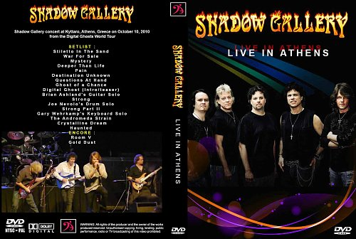 Shadow Gallery - Live In Athens (2010)