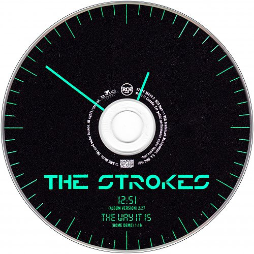 Strokes - 12:51 (2003 RCA Records, BMG, TMF Studios, Sterling Sound, Canada)