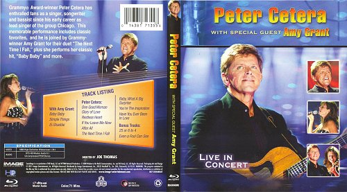 Peter Cetera with Special Guest Amy Grant - Live In Concert (2011)