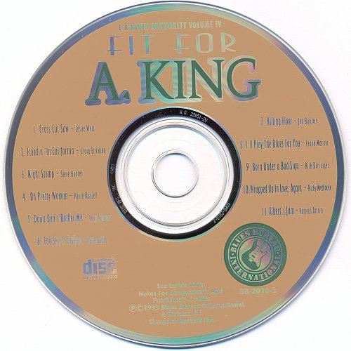 Fit For A King - L.A. Blues Authority Volume IV (1993)