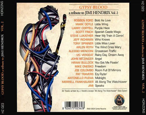Gypsy Blood - A Tribute To Jimi Hendrix Vol. 2 (2004)