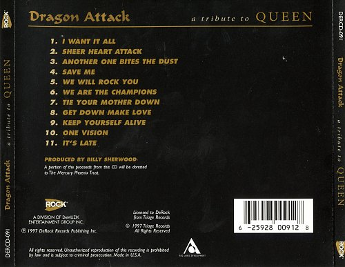 Dragon Attack - Tribute To Queen (1997)