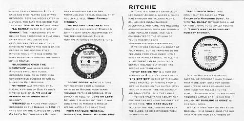 Valens Ritchie - Ritchie Valens & Ritchie (1990)