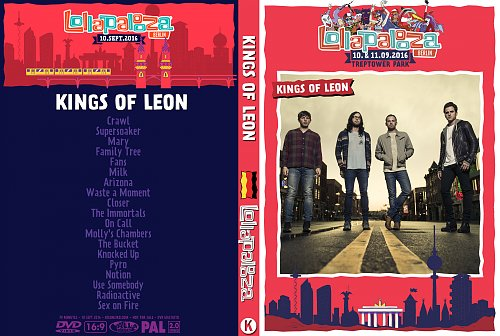 Kings Of Leon - Lollapalooza Berlin (2016)