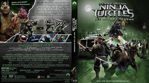 Черепашки-ниндзя 2 / Teenage Mutant Ninja Turtles: Out of the Shadows (2016)