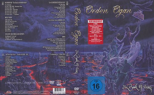 Orden Ogan - The Book Of Ogan (2016) [Deluxe Box Set]