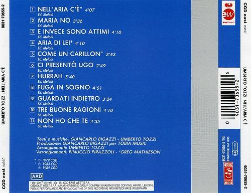 Umberto Tozzi - Nell' Aria C' E' (1984)