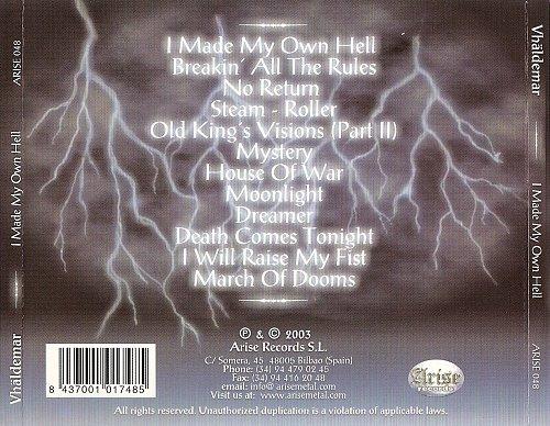 Vhaldemar - I Made My Own Hell (2003)