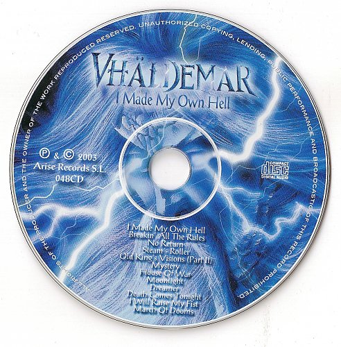 Vhaldemar - I Made My Own Hell (2003)