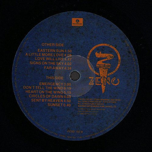 Zeno - Zeno (1986)
