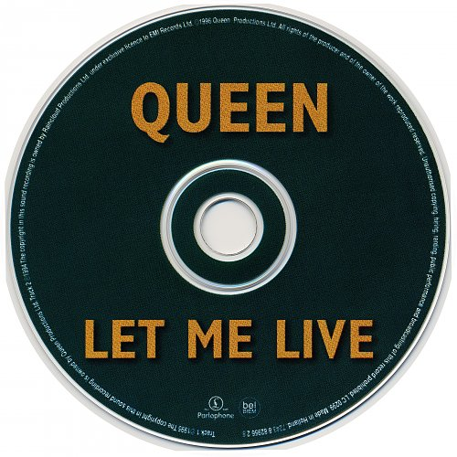 Queen - Let Me Live (1996, Single)